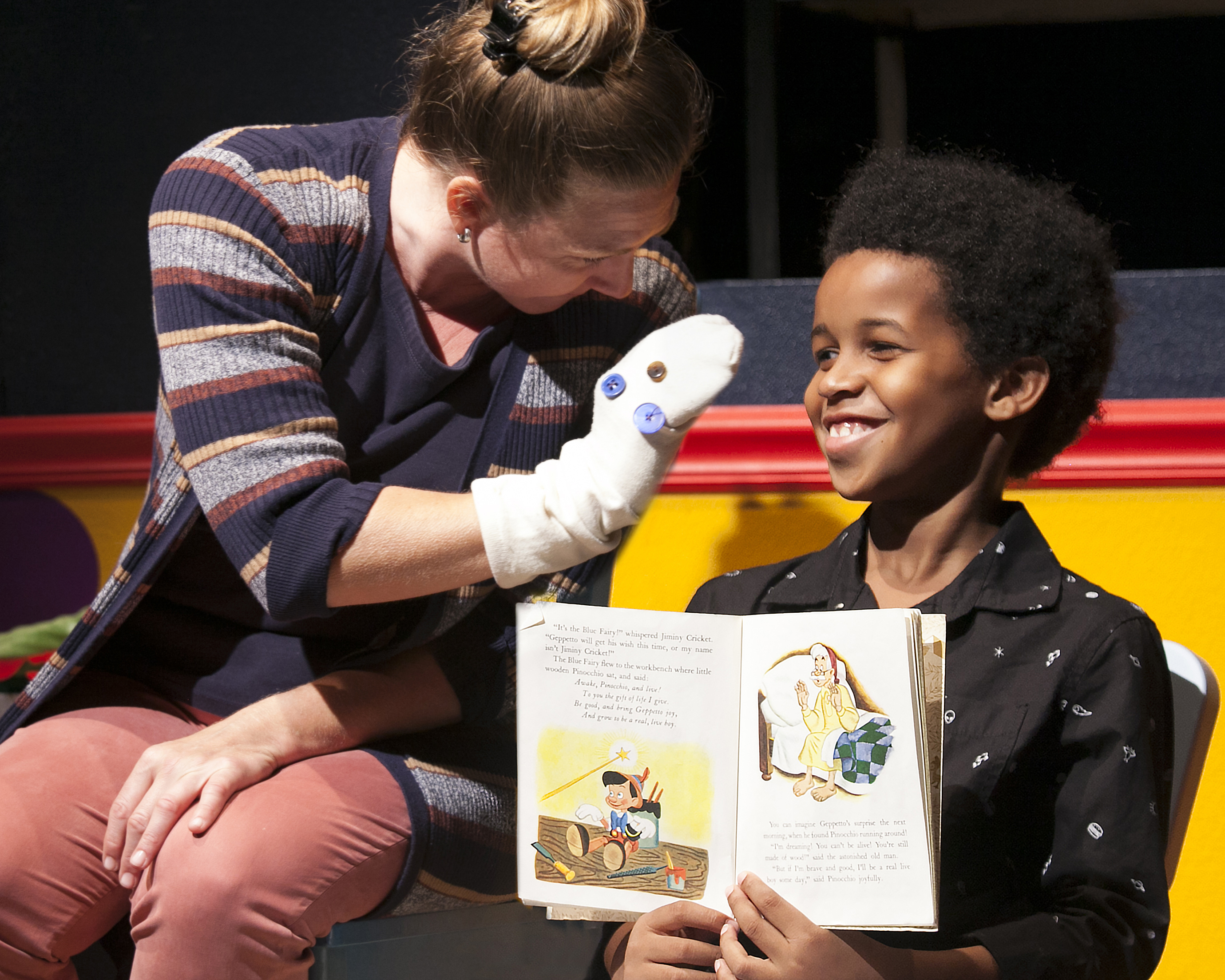 """Marionettes Are Parents in Stephen Kaplan's """"A Real Boy,"""" a Tale of"""